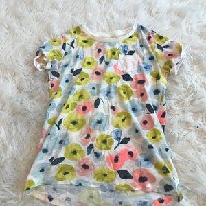 Girls flower shirt